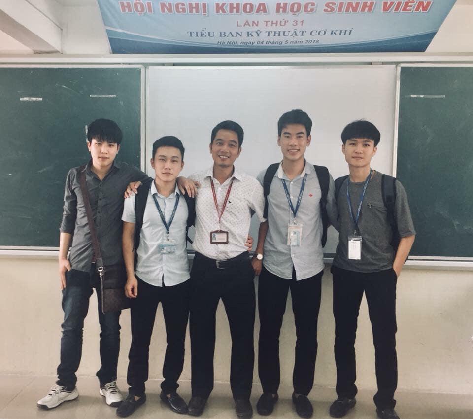 Là sinh viên Xuất sắc trong hoạt động Nghiên cứu Khoa học sinh viên