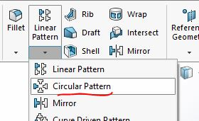 Lệnh Circular Pattern |thiết kế 3D trong Solidworks|