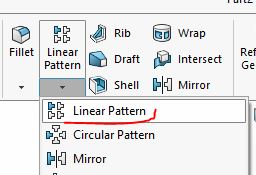 Lênh Linear Pattern |thiết kế 3D trong Solidworks|