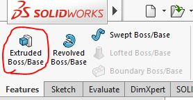 Lệnh Extruded Boss/Base |thiết kế 3D trong Solidworks|