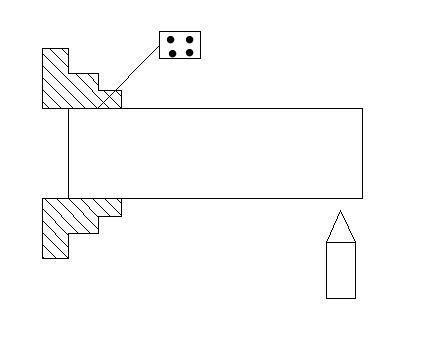 Nguyên công 1 của chi tiết 2 (Công nghệ chế tạo máy 1)