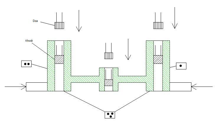 Nguyên công 3 của chi tiết 1 (Công nghệ chế tạo máy 1)